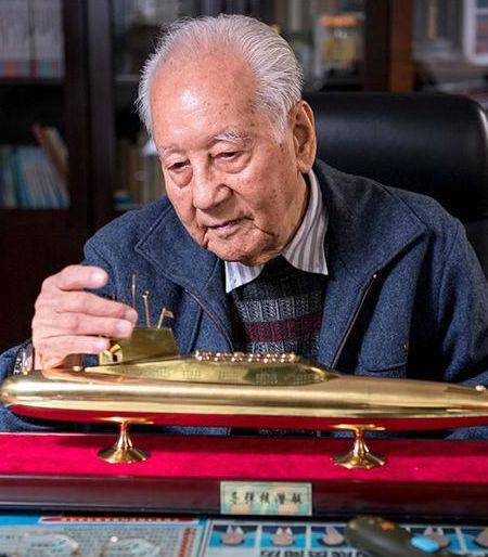 """中國核潛艇之父黃旭華被授予""""共和國勛章""""!"""